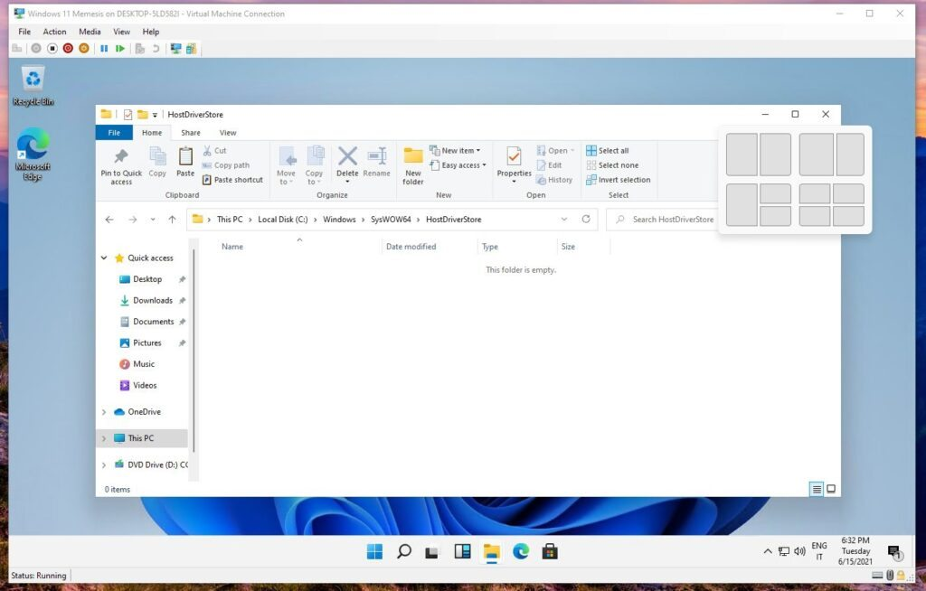 Скриншоты Microsoft Windows 11 PRO